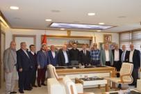 AHMET YıLMAZ - AK Parti Kurucu İlçe Başkanları Havza'da