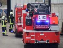 POTASYUM - Almanya'da maden ocağında patlama! Tüm işçiler kurtarıldı