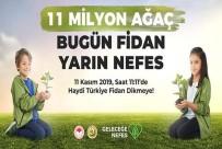TOPLU TAŞIMA - Bafra 11 Milyon Ağaç İçin Buluşuyor