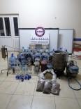 Bandırma'da Kaçak İçki Deposuna Baskın