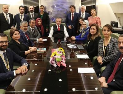 Cumhurbaşkanı Erdoğan'dan ABD ziyaretine ilişkin açıklama