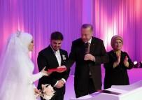 Cumhurbaşkanı Erdoğan, Mahir Ünal'ın Kızının Nikah Törenine Katıldı