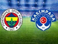İTTIFAK HOLDING - Fenerbahçe, Kasımpaşa'yı yendi!