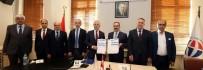 AYHAN DOĞAN - Gaziantep Üniversitesi Ve Kuzey Makednya Vizyon Üniversitesi Arasında Akademik İş Birliği Anlaşması
