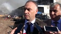 GÜNCELLEME - Sivas'ta Fabrikada Çıkan Yangın Kontrol Altına Alındı