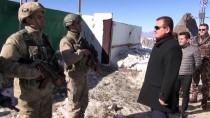 Hakkari Valisi Akbıyık, İkiyaka Dağları'nda Güvenlik Güçlerini Ziyaret Etti