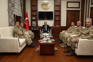 Jandarma Genel Komutanı Orgeneral Arif Çetin Bayburt Valiliği'ni Ziyaret Etti