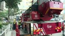 Kadıköy'de Bir Apartmanda Çıkan Yangın Söndürüldü