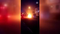 Karabük'te Seyir Halindeki Otobüste Yangın Çıktı