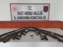 TELEFON KABLOSU - Kastamonu'daki Silah Kaçakçılığı Operasyonunda 3 Tutuklama