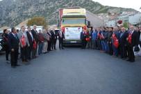 'Komando Ocağı' Eğirdir'den Mehmetçik'e 1 Tır Dolusu Elma Desteği