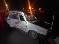 Konya'da İki Otomobil Çarpıştı Açıklaması 5 Yaralı