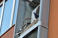 Kuşlar Klima Motorlarına Yuva Yaptı, İş Merkezinin Bakım Onarım Çalışmaları Durduruldu