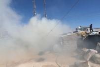 Mardin'de Ahırda Korkutan Yangın