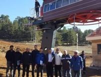 Muratdağı Termal Kayak Merkezi, Yeni Sezona Hazırlanıyor