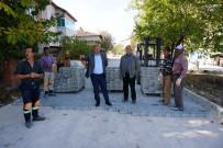 Osmancık Belediye'si 30 Bin Metrekare Parke Taşı Döşeyecek