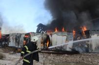 Sivas'ta Fabrika Yangını(2)