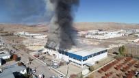 Sivas'ta Fabrika Yangını