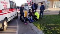 Tekirdağ'da Direksiyonda Şeker Komasına Giren Sürücü Kaza Yaptı Açıklaması 3 Yaralı