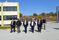Vali Şentürk'ten Mermer Fabrikasına Ziyaret