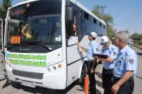 TOPLU TAŞIMA - Zabıta Şehir İçi Otobüsleri Denetledi