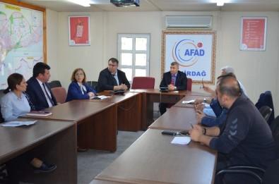 AFAD'da Değerlendirme Toplantısı