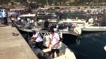 OLTA - Alanya'da Olta Balıkçılığı Turnuvası Başladı