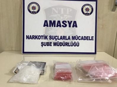 Amasya'da Uyuşturucu Operasyonu Açıklaması 2 Gözaltı