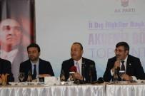 İL BAŞKANLARI TOPLANTISI - Bakan Çavuşoğlu Açıklaması 'Büyük Bir Oyunu Bozduk, Sahadaki Kazanımlarımızı Masada Kaybetmedik'