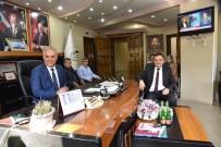 Başkan Şahin'den İlçe Ve Belde Belediyeleri Ziyaretleri