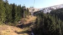 Çambaşı Yaylası'ndaki Kayak Merkezi Sezona Hazırlanıyor