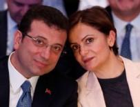 Canan Kaftancıoğlu - Ekrem İmamoğlu'ndan Kaftancıoğlu'na cevap!