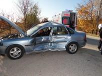 Gölpazarı'nda Trafik Kazası; 3 Yaralı