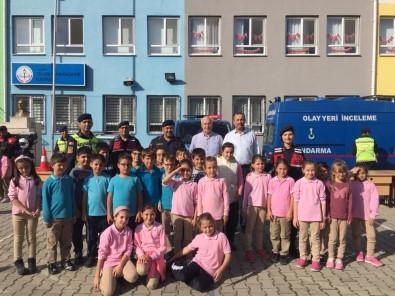 İlkokul Öğrencilerine Jandarma Tanıtıldı
