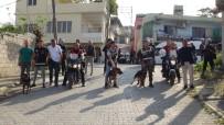 K9 - İskenderun Polisinden Dedektör Köpeklerle Uyuşturucu Baskını