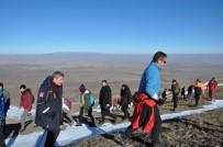Kars'ta AFAD Gönüllüleri Yahni Dağı'na Tırmandı
