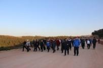Körfezlililer İlimtepe'de Sağlık İçin Yürüdü