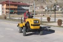 ARAZİ ARACI - Lise Öğrencileri Hurdalardan Mini Traktör İmal Etti