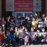 Mazıdağı'nda Öğrenciler, Lösemi Hastalarına Destek İçin Maske Taktı