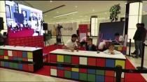 Öğrenciler, Rubik Küplerden Atatürk Portresi Yaptı