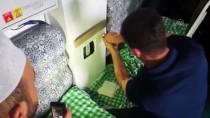 Sivas'ta Bacaya Sıkışan Güvercini İtfaiye Kurtardı
