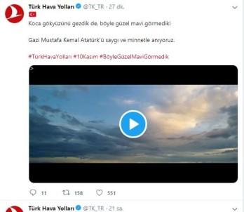 THY'den 10 Kasım'a Özel Atatürk Paylaşımı