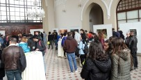 TRAKYA ÜNIVERSITESI - Trakya Üniversitesi Güzel Sanatlar Fakültesi'nden 'Sonbahar Alegorisi' Sergisi