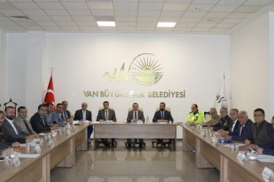 Van Büyükşehir Belediyesi Öncülüğünde UKOME Toplantısı Yapıldı
