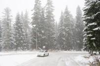 Sürücülerin Kar İle İmtihanı