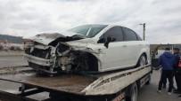 Tosya'da Trafik Kazası Açıklaması 5 Yaralı