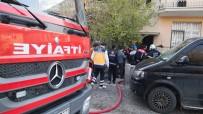 AKSARAY BELEDİYESİ - Aksaray'da Elektrikli Soba Yangına Neden Oldu