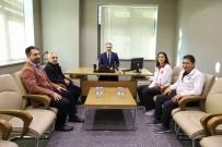 YıLDıZLı - Başkan Aktaş Olimpiyat Yolcusu Hatice Kübra'yı Kutladı