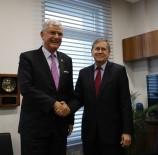 DIŞİŞLERİ KOMİSYONU - Dışişleri Komisyonu Başkanı Bozkır, ABD Büyükelçisi Satterfield İle Görüştü