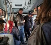Halk Otobüsleri Denetleniyor